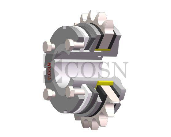 星形弹性联轴器型号_SCF摩擦式扭力限制器